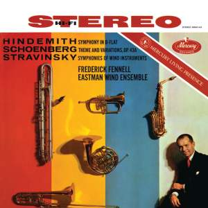 Hindemith, Schoenberg & Stravinsky: Works for Wind