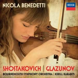 Nicola Benedetti plays Shostakovich & Glazunov Violin Concertos Product Image