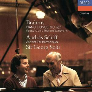 Brahms: Piano Concerto No. 1 & Variations on a theme of Schumann