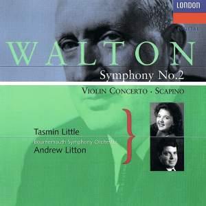 Walton: Violin Concerto & Symphony No. 2
