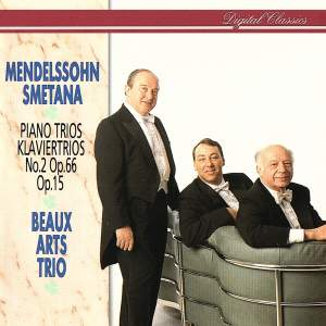 Mendelssohn and Smetana: Piano Trios