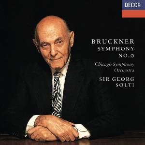 Bruckner: Symphony No. 0 in D minor 'Nullte'