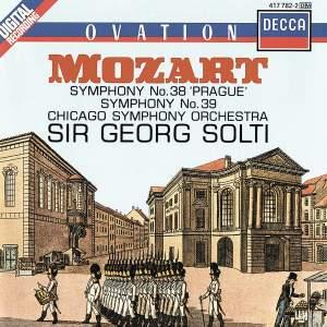 Mozart: Symphonies Nos. 38 & 39