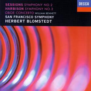 Sessions & Harbison: Symphonies