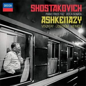 Shostakovich: Piano Trios Nos. 1 & 2 & Viola Sonata Product Image