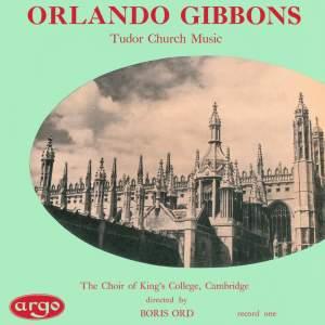 Orlando Gibbons: Tudor Church Music (Anthems & Voluntaries)