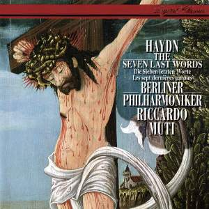 Haydn: The Seven Last Words of Our Saviour on the Cross (Orchestral version, 1786) Product Image