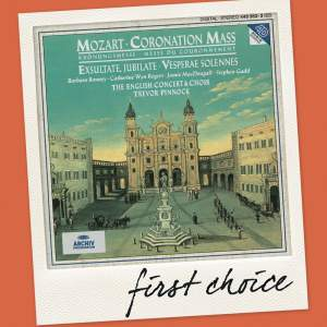Mozart: Coronation Mass & Vesperae Solennes Product Image