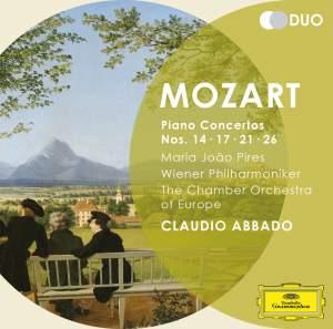 Mozart: Piano Concertos Nos. 14, 17, 21, 26