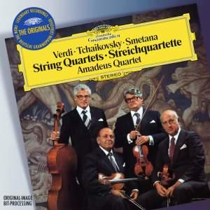 Verdi, Tchaikovsky & Smetana: String Quartets