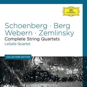 Schoenberg, Berg, Webern, Zemlinsky: Complete String Quartets