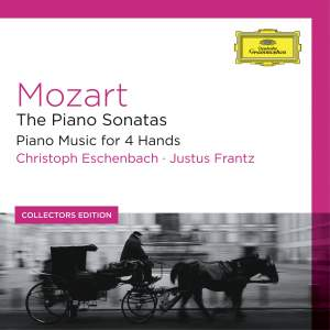 Mozart: Piano Sonatas & Piano Music for 4 Hands