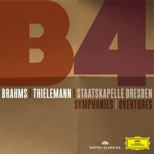 Brahms: 4 Symphonies & Overtures