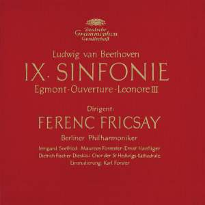 Beethoven: Symphony No.9, Overtures 'Egmont' & 'Leonore III'