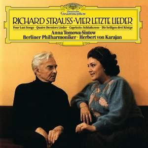 Strauss: Vier Letzte Lieder Product Image