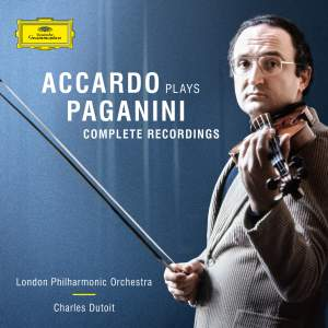 Salvatore Accardo plays Paganini: The Complete Recordings