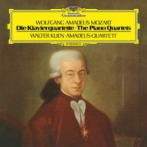 Mozart: Piano Quartet No.1 In G Minor, K.478&#x3B; Piano Quartet No.2 In E Flat, K.493
