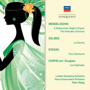 Mendelssohn, Delibes, Rossini & Chopin: Orchestral Works