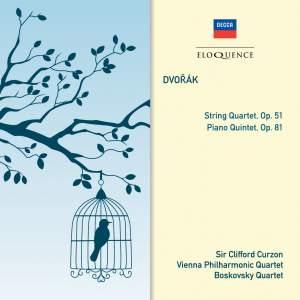 Dvorak: String Quartet & Piano Quintet