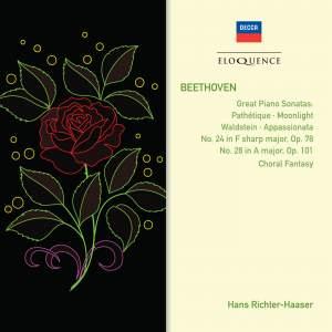 Beethoven: Piano Sonatas & Choral Fantasy