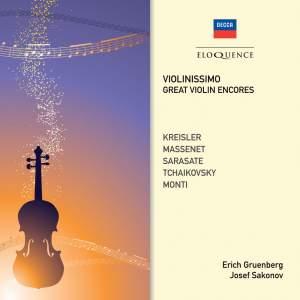 Violinissimo: Great Violin Encores