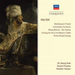Walton: Belshazzar's Feast, Choral Works & Songs