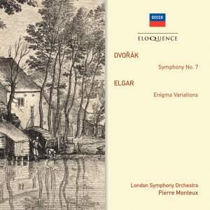 Pierre Monteux conducts Dvorak & Elgar
