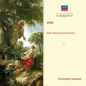 Arne: Sonatas or Lessons for the Harpsichord Nos. 1-8 (complete)