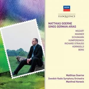 Matthias Goerne Sings German Arias
