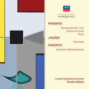 Claudio Abbado Conducts Prokofiev, Hindemith & Janáček