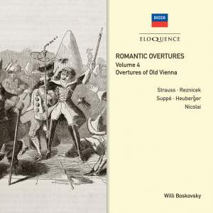 Romantic Overtures - Vol. 4: Overtures of Old Vienna