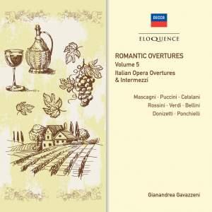 Romantic Overtures - Vol. 5: Italian Opera Overtures