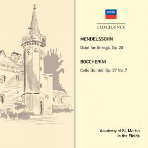 Mendelssohn: Octet & Boccherini: Quintet, Op. 37 No. 7