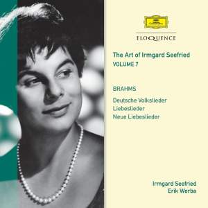 Irmgard Seefried Volume 7: Seefried & Friends sing Brahms