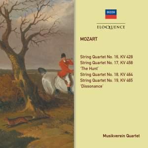 Mozart: String Quartets KV 428, 458, 464, 465