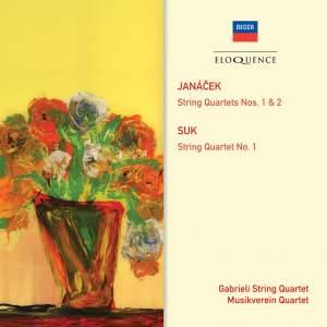 Janacek & Suk String Quartets