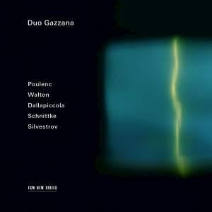 Duo Gazzana: Poulenc, Walton, Dallapiccola, Schnittke & Silvestrov