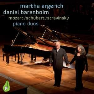 Martha Argerich & Daniel Barenboim: Piano Duos