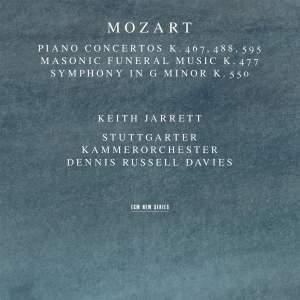 Mozart: Piano Concertos Nos. 21, 23 & 27 and Symphony No. 40