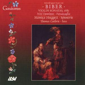 Biber: Violin Sonata No. 3 in F major, etc.