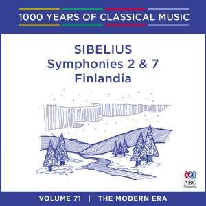 Sibelius - Symphonies Nos. 2 & 7, Finlandia: Vol. 71