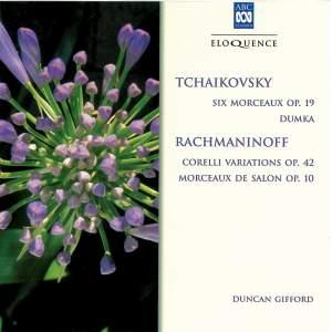 Tchaikovsky & Rachmaninoff: Piano music