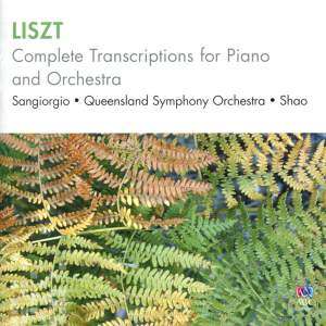 Liszt: Complete Transcriptions for piano and orchestra Product Image