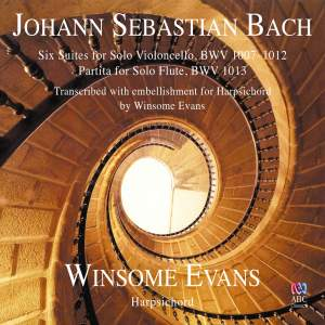 JS Bach: Six Suites for Solo Violoncello & Partita for Solo Flute