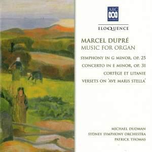 Marcel Dupré: Music For Organ