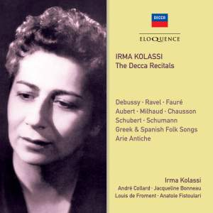 Irma Kolassi - The Decca Recitals