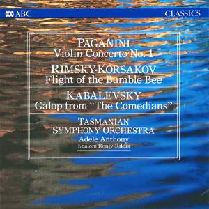 Paganini: Violin Concerto No. 1 / Rimsky-Korsakov: Flight of the Bumble-Bee / Kabalevsky: Galop from