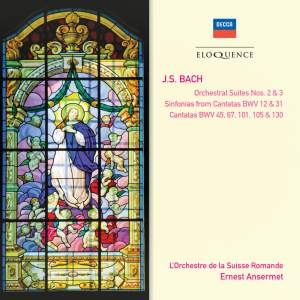 Bach: Orchestral Suites Nos. 2 & 3 and various cantatas