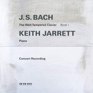 J S Bach: The Well-Tempered Clavier, Book 1 Product Image