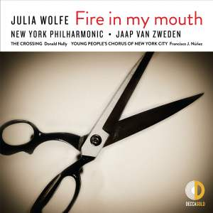 Julia Wolfe: Fire in my mouth Product Image